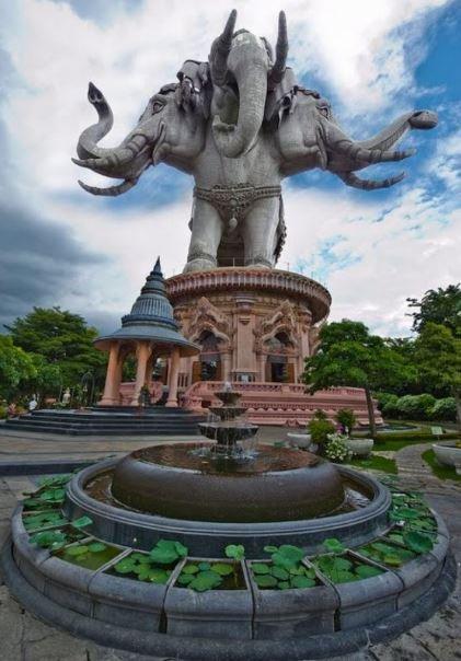 ใครขอพรเห็นผลทันตา ช้างเอราวัณให้โชค ของานได้งาน ขอเงินได้เงิน ...